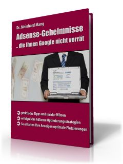 Google Adsens Geheimnisse